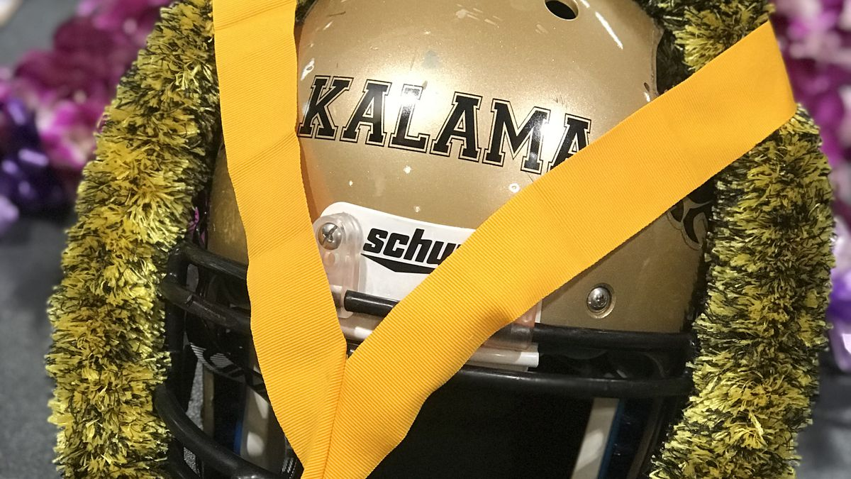 McKinley High honors a fellow Tiger 'who laid down his life for his teammate'