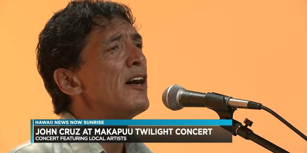 John Cruz gives us a preview for the Makapu'u Twilight Concert Series
