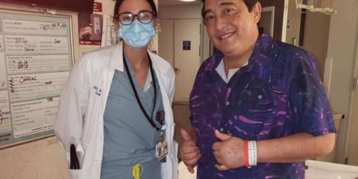 Island musician whose hospital duet went viral making big strides after transplant
