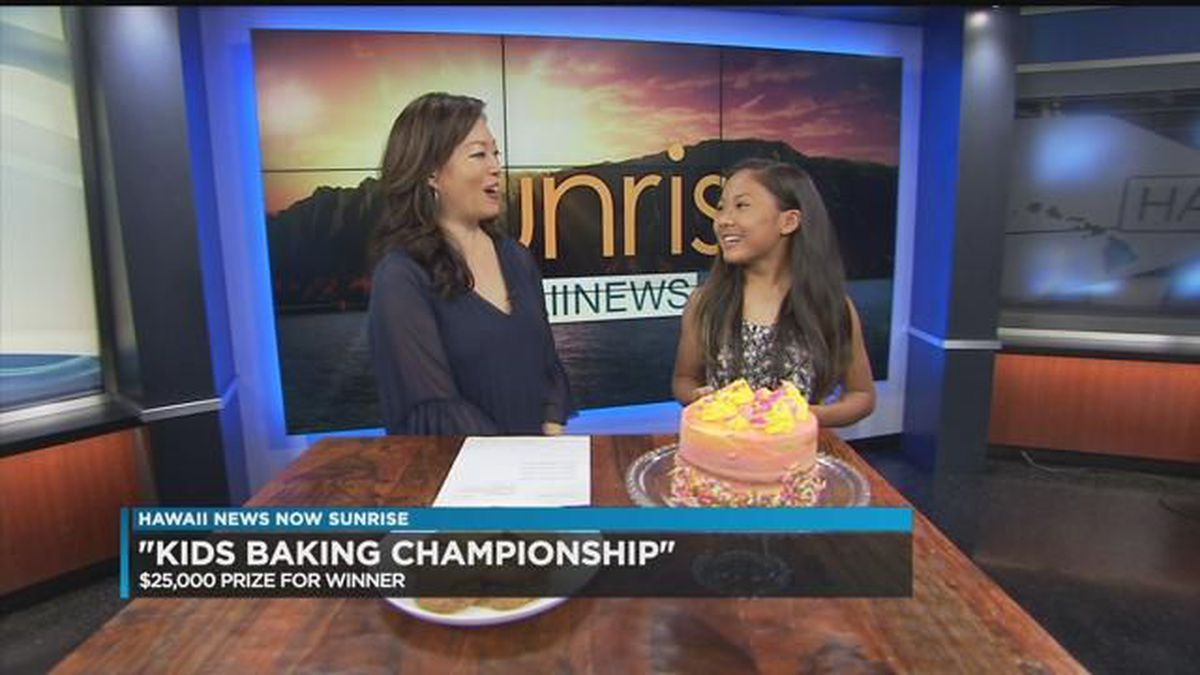 Kailua girl competes to win title on Food Network's 'Kids Baking