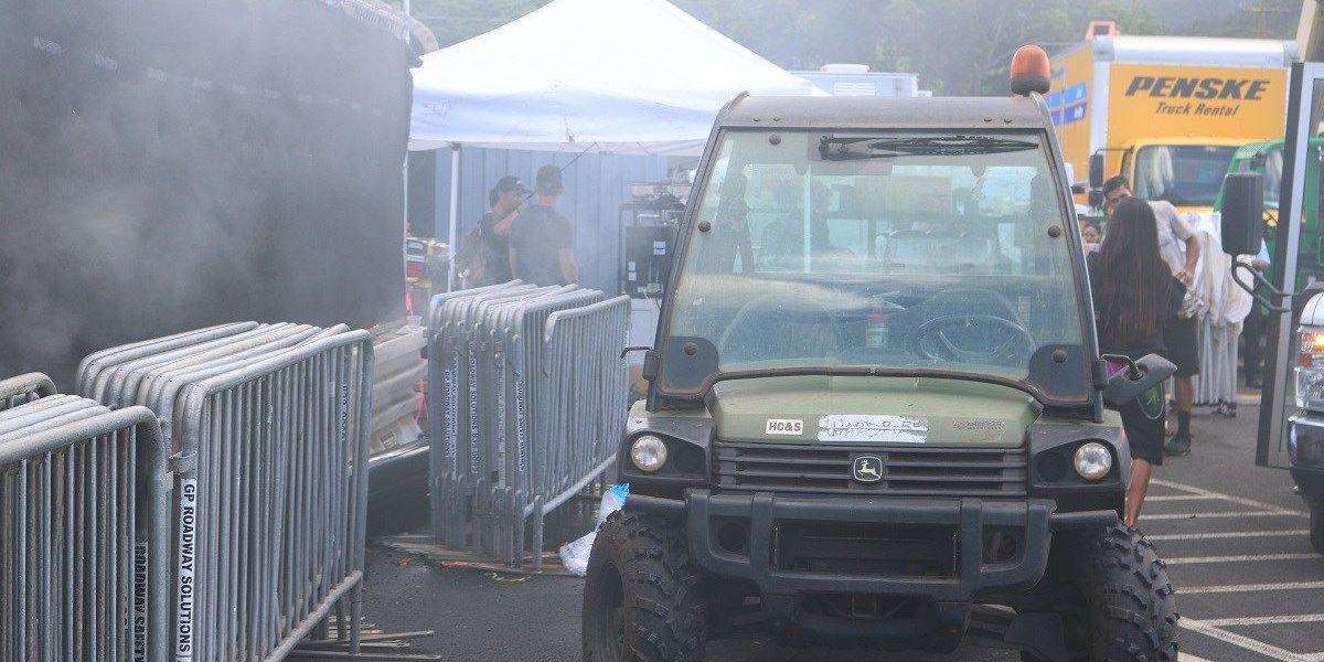 Jurassic World sequel starts filming at Oahu harbor