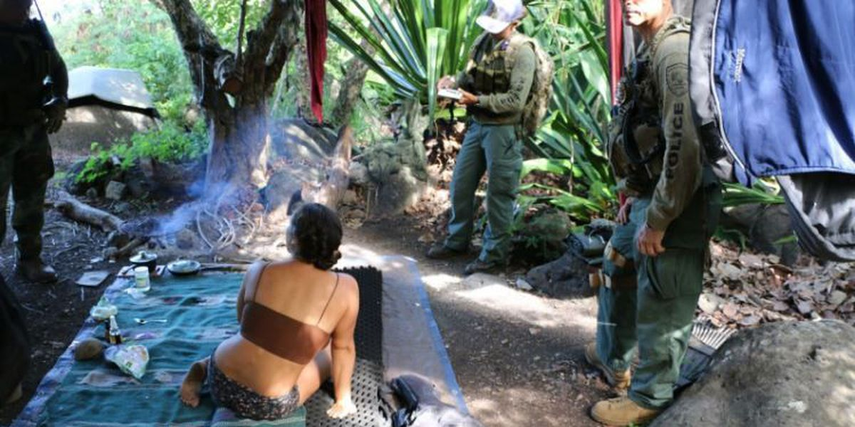Crackdown continues against trespassers, drug-growers in Kauai's Kalalau Valley