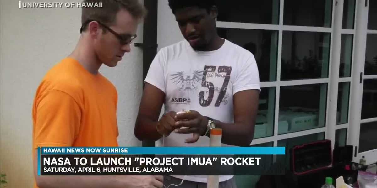 NASA rocket designed by UH students set to launch