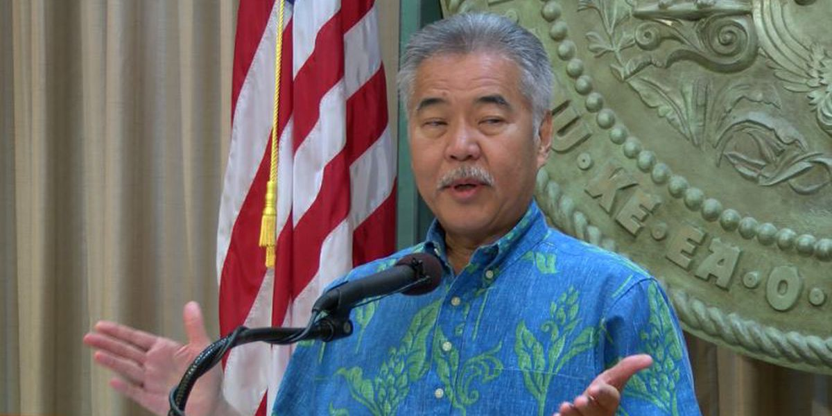 Here's a full list of the bills Gov. Ige said he intends to veto
