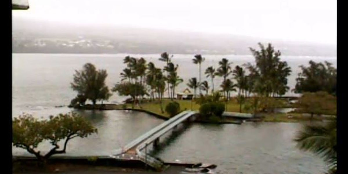Watch NOW: Live camera from Hilo Bay as Hurricane Iselle nears state