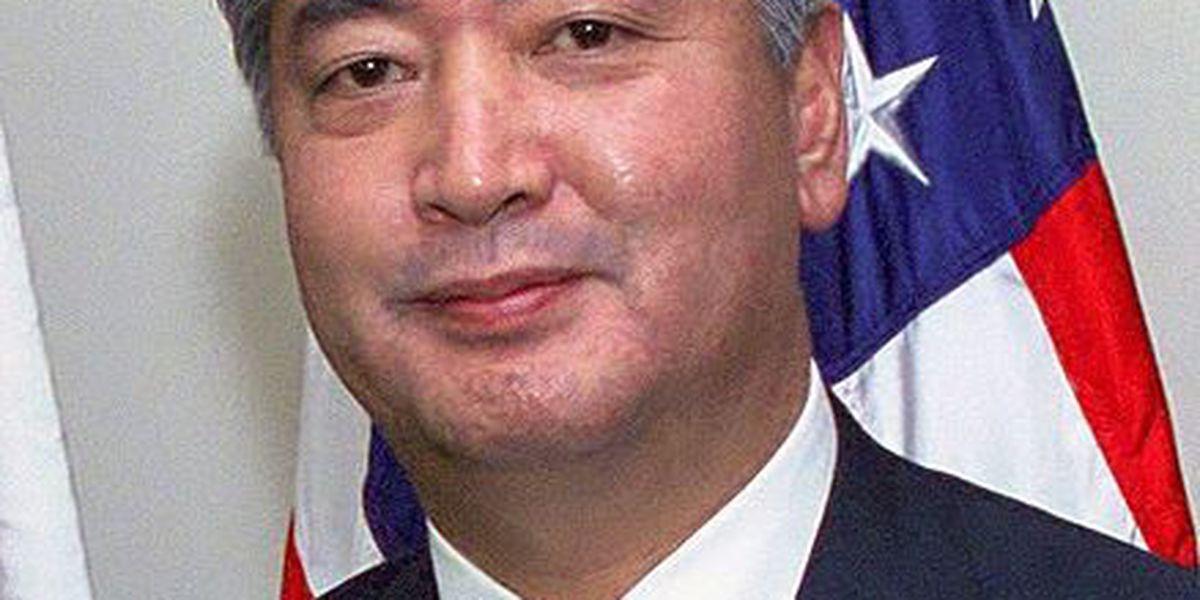 Japan's defense minister meeting military leaders in Hawaii