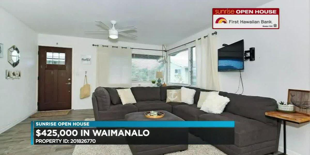 Sunrise Open House: Oahu homes under $500K