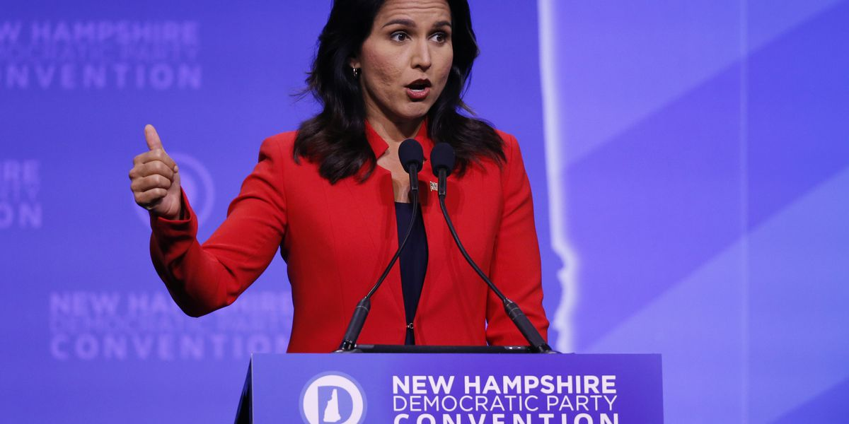 Gabbard will not boycott Democratic presidential debate in Ohio