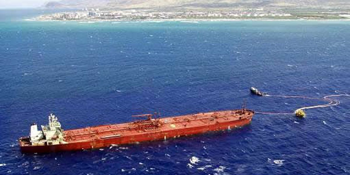 Thousands Of Gallons Of Oil Spill Into The Pacific