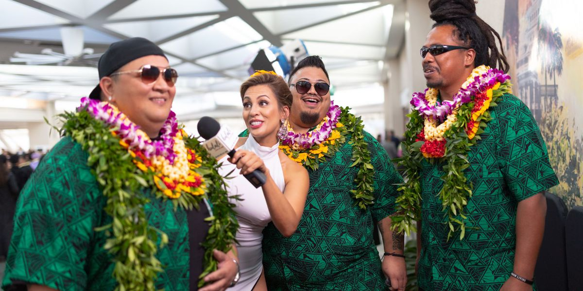 Red Carpet at the 2019 Na Hoku Hanohano Awards