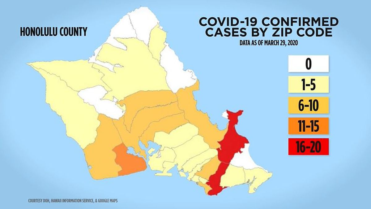 A closer look at how the state's coronavirus zip code maps work
