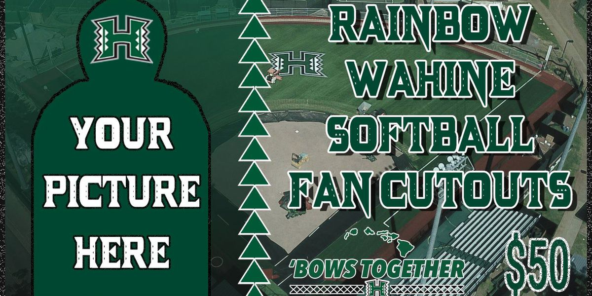 Are you a UH softball super-fan? Prove it with a cardboard cutout in the stands