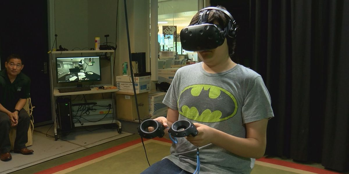 Students experience homelessness through VR experience