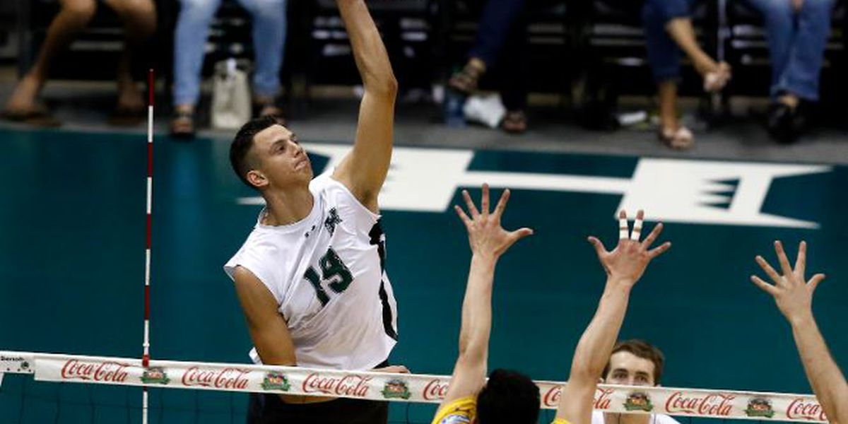 Hawaii upends British Columbia in straight-sets