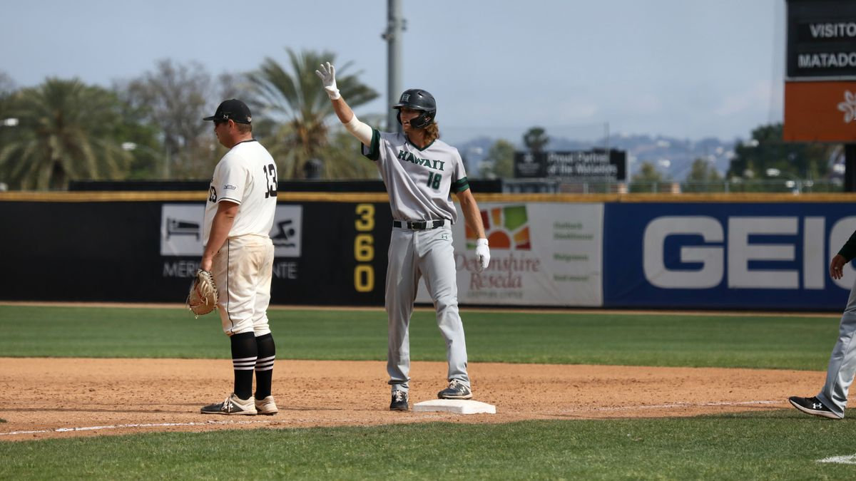Rainbow Warriors baseball gets swept by Cal State Northridge on the road