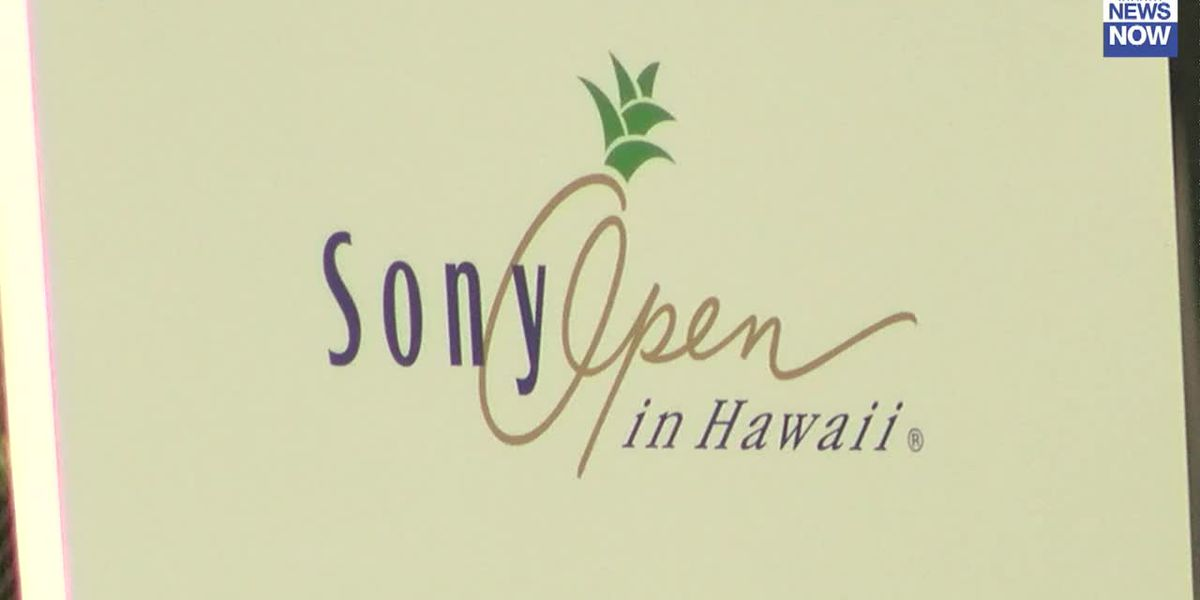 Hawaii's Sony Open set to tee off this week, without spectators