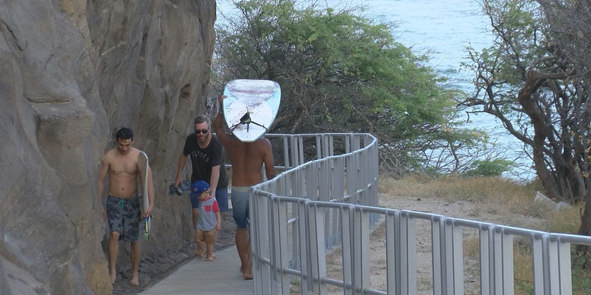 City completes $2M Diamond Head project. But surfers aren't too happy