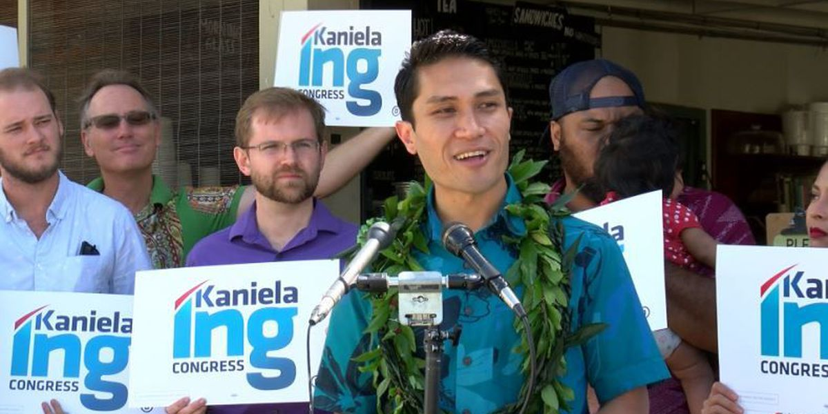 State Rep. Kaniela Ing officially enters race for US Congress