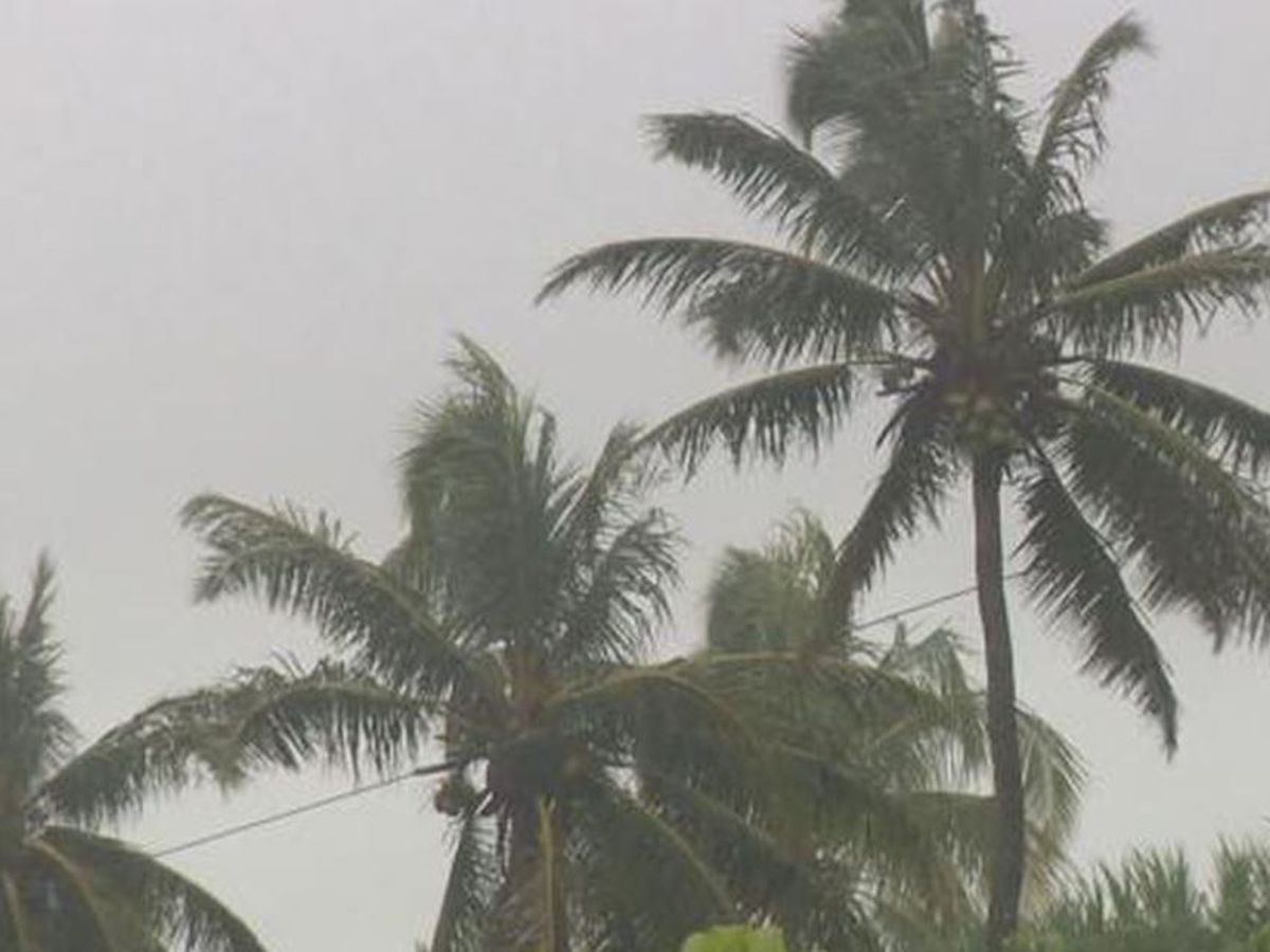 Thunderstorms bringing heavy rain, flooding to parts of Oahu