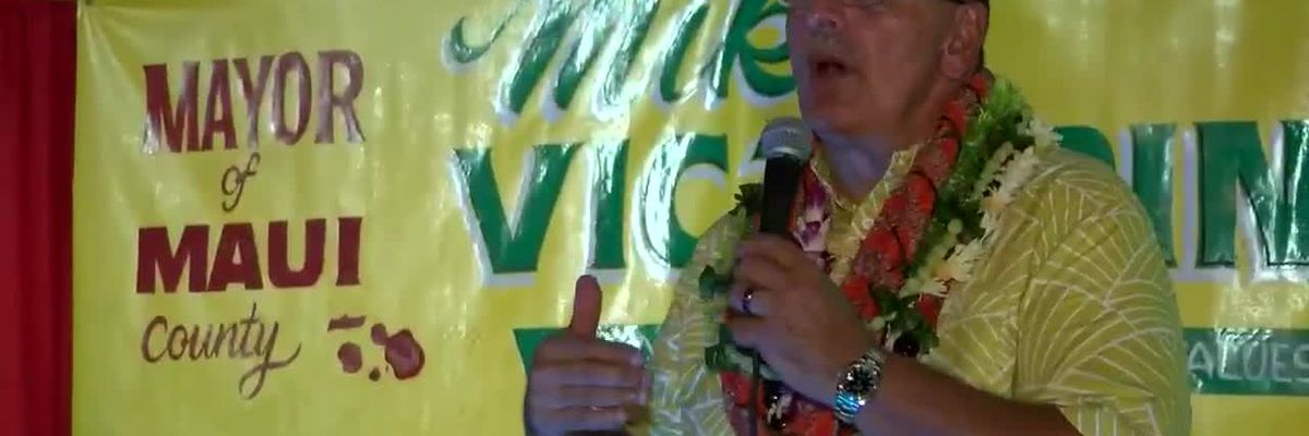Maui County Mayor-elect Mike Victorino talks about priorities and challenges