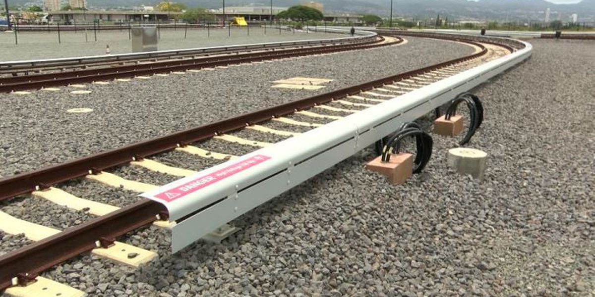 Energized tracks are the latest accomplishment for Honolulu's rail