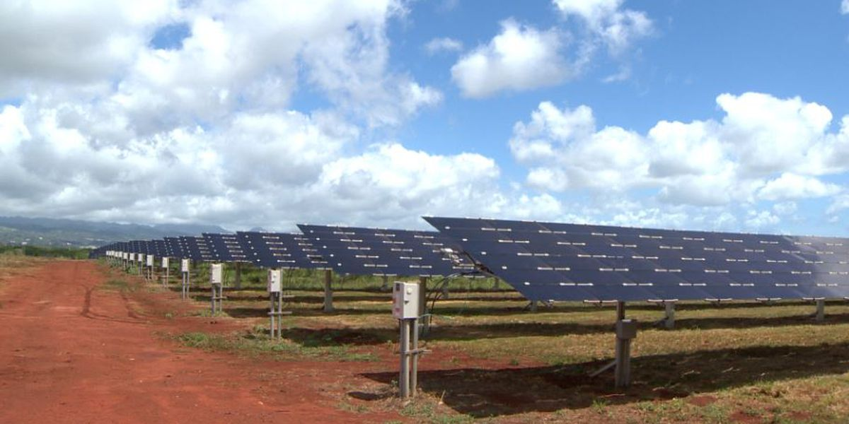 Another massive solar project moves Hawaii closer to its green energy goal