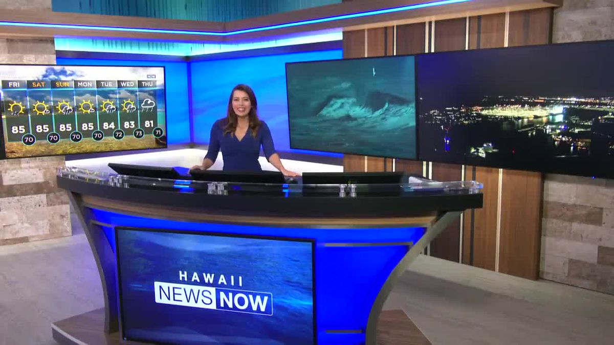 9 PM weather report with Jen Robbins