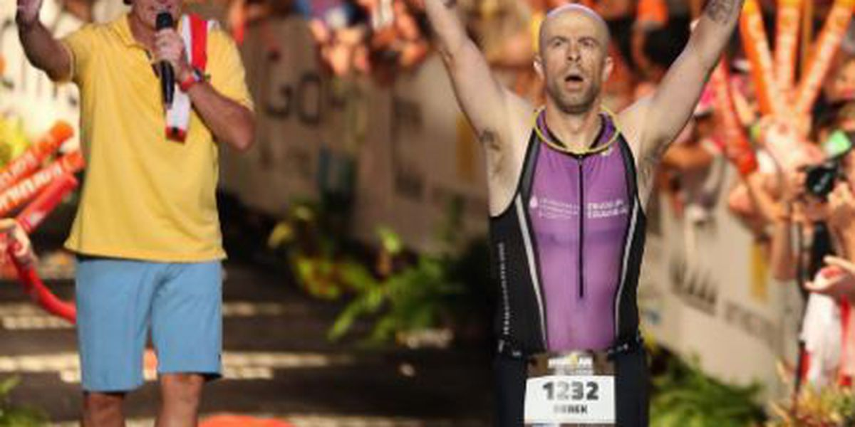 A donor gave this triathlete a new heart ... and a chance to 'live a life worth fighting for'