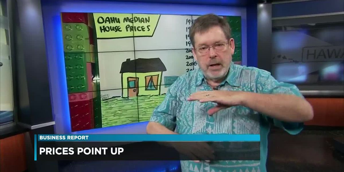 Business Report: Howard Dicus' Illustrated Economics - Breaking down median home prices for O'ahu