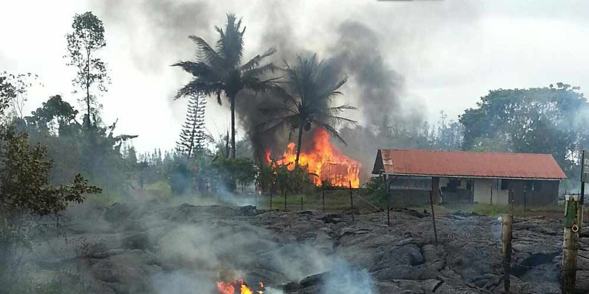 Property insurance moratorium lifted for Puna district affected by lava flow