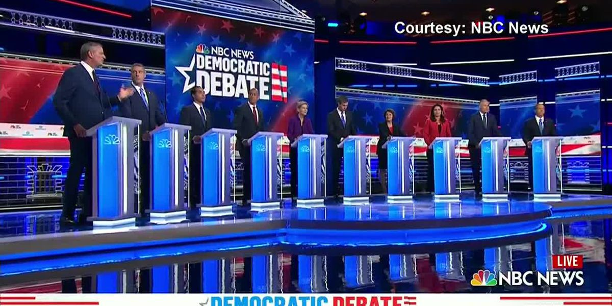 Democratic debate: Candidates stances on healthcare