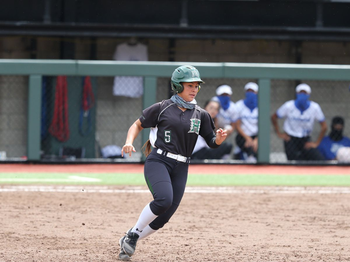 Rainbow Wahine softball opens 2021 season with two-game sweep over Chaminade