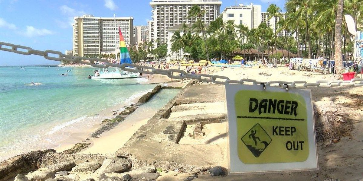 Study: One third of Hawaii's coasts are moderately or highly vulnerable to rising seas