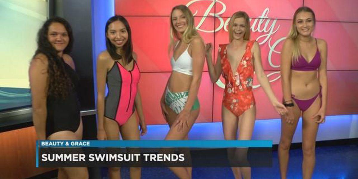 Beauty & Grace: Summer swimwear
