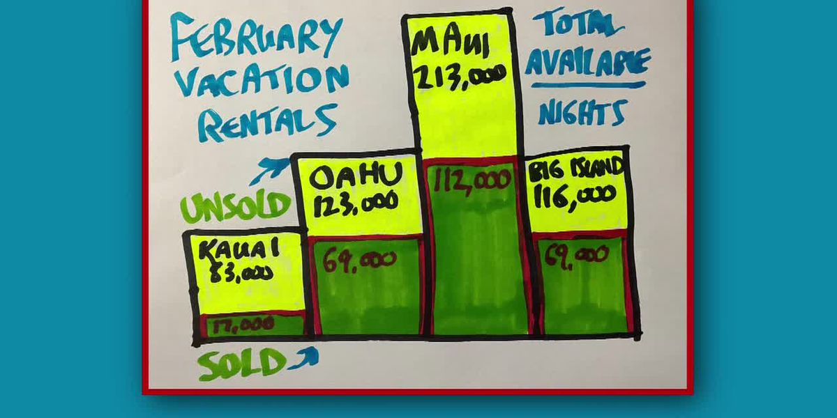 Business Report: Hawaii vacation rentals for February 2021