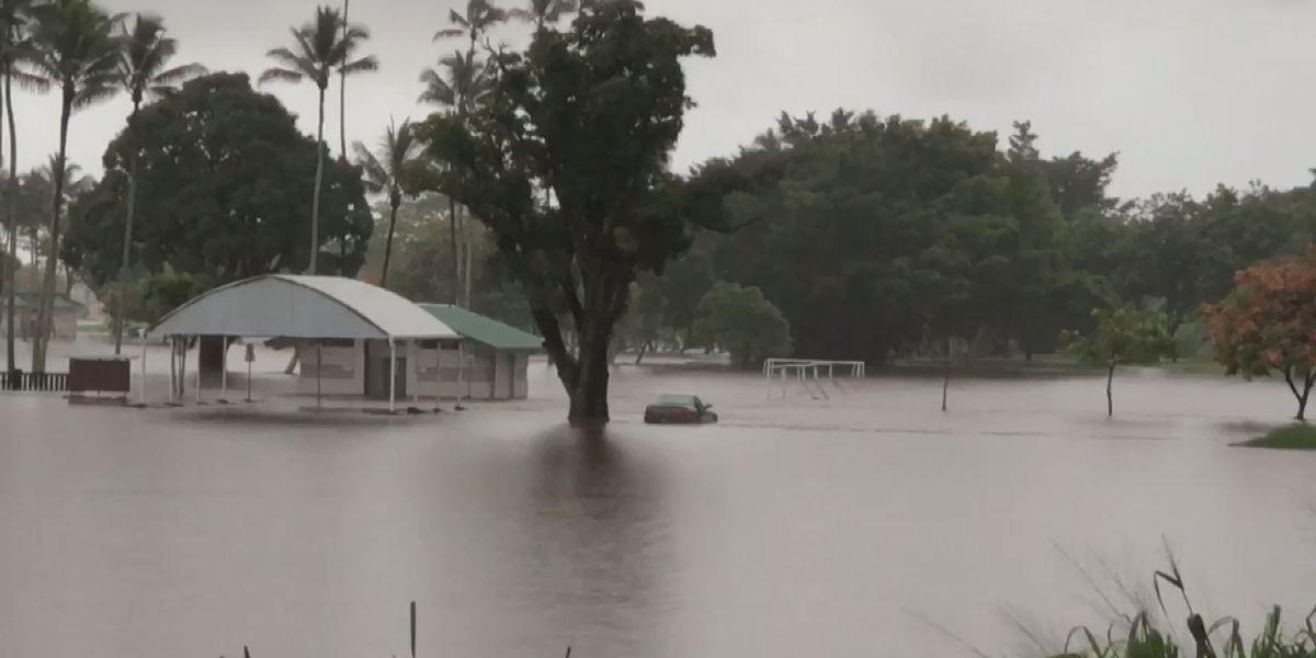 Maui, Big Island placed under flash flood watch as disturbance approaches