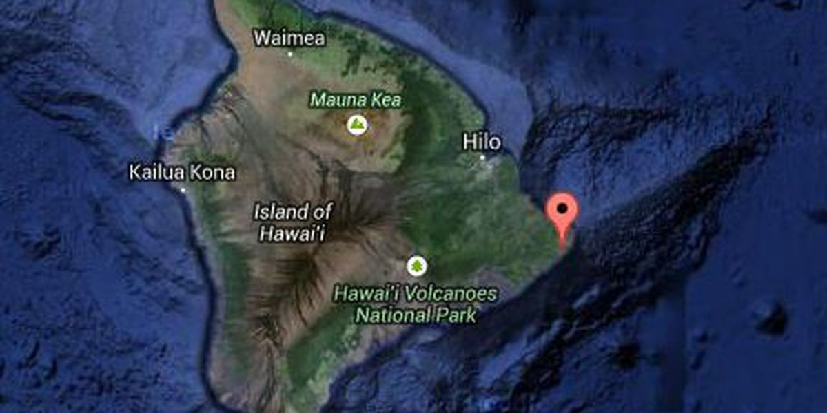 Crews search for missing man on Big Island