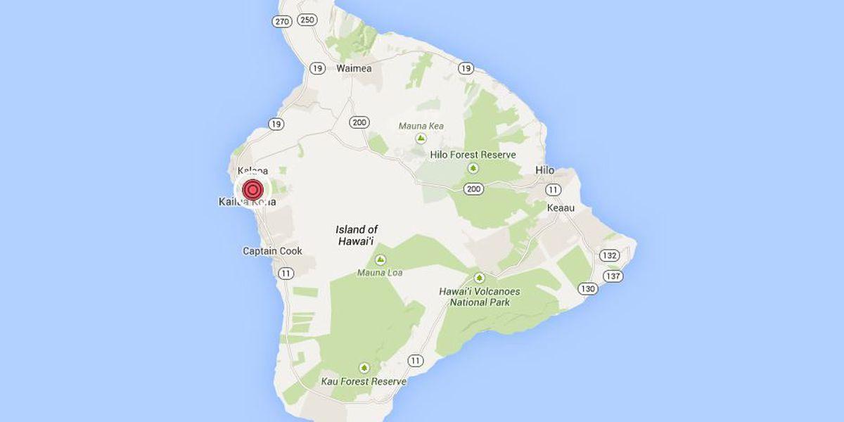 Magnitude-3.7 earthquake shakes Big Island