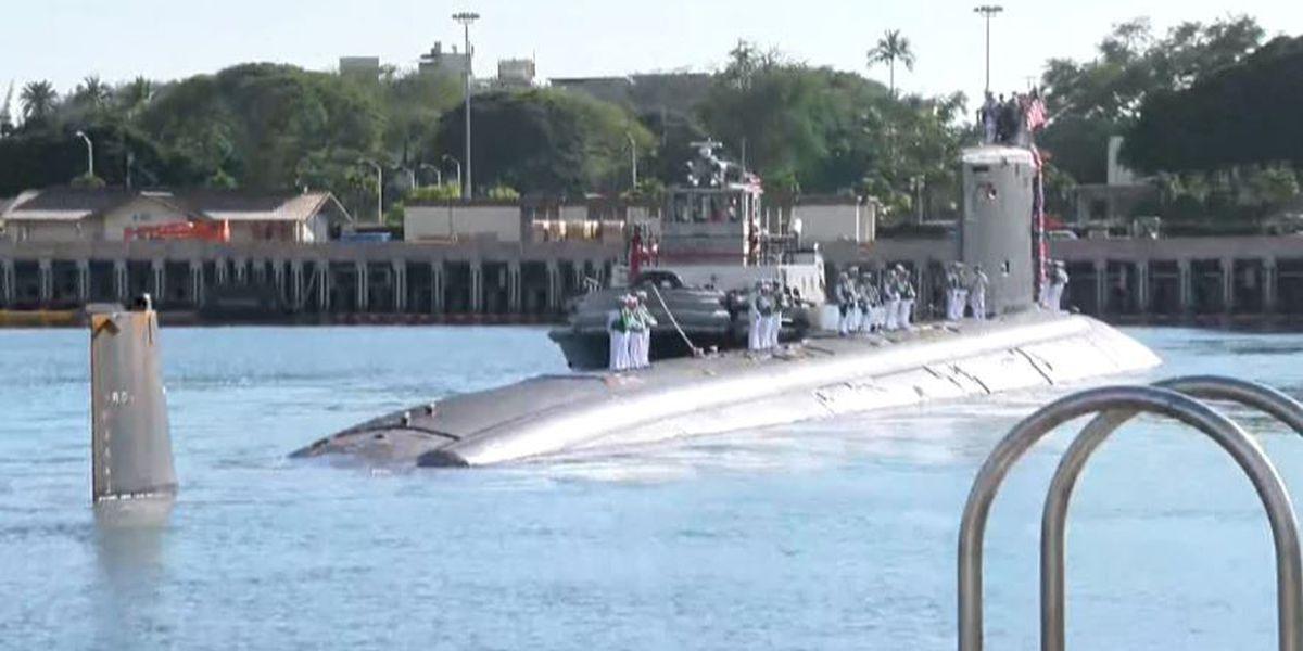 Hawaii welcomes new fast-attack submarine: The USS Missouri