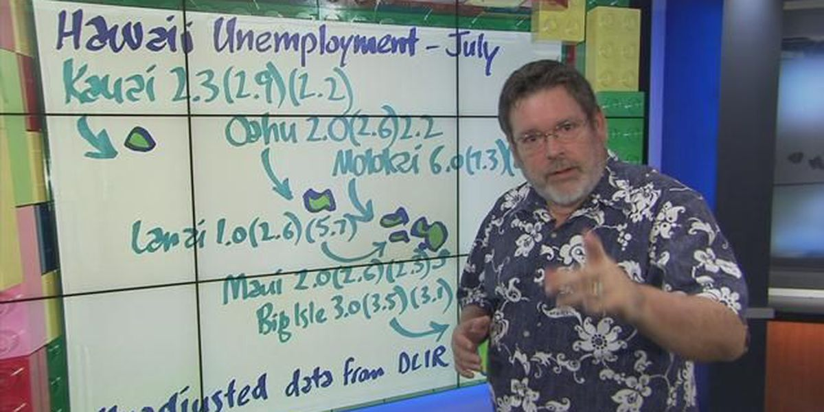 Business Report: Hawaii unemployment by island