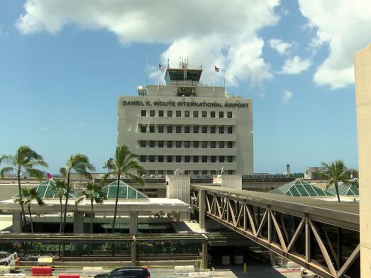 Power restored at Honolulu airport following brief outage
