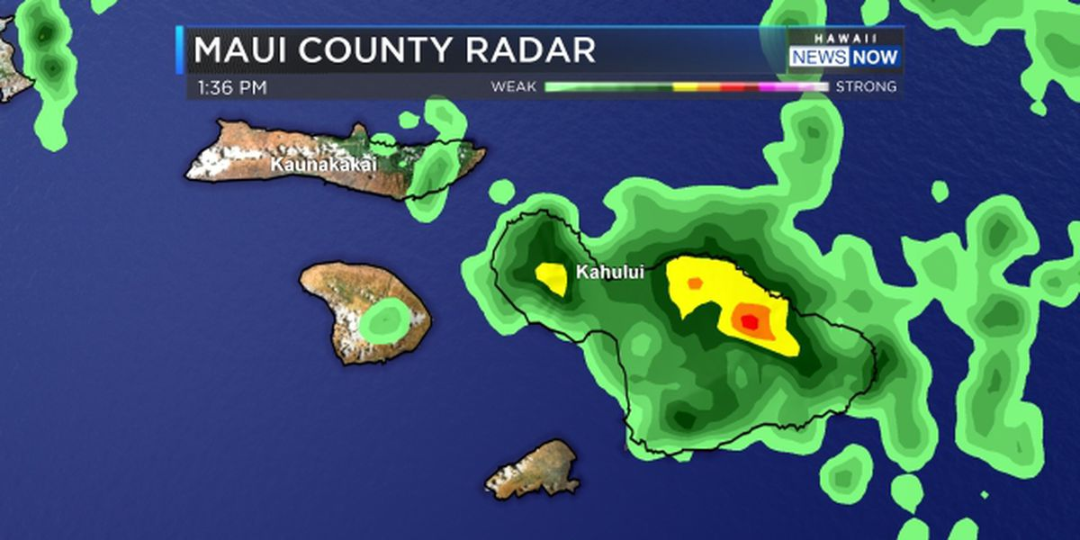Flash flood warning expires for Maui as heavy rain subsides