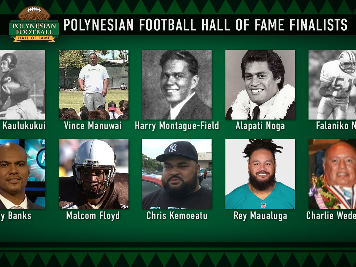 Polynesisan Football Hall of Fame unveils class of 2021 finalists