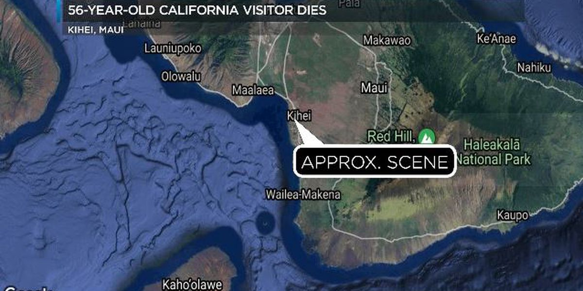 California man dies while paddle boarding off Maui