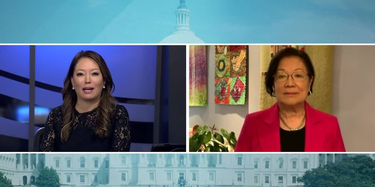 US Sen. Mazie Hirono on ongoing negotiations over second stimulus
