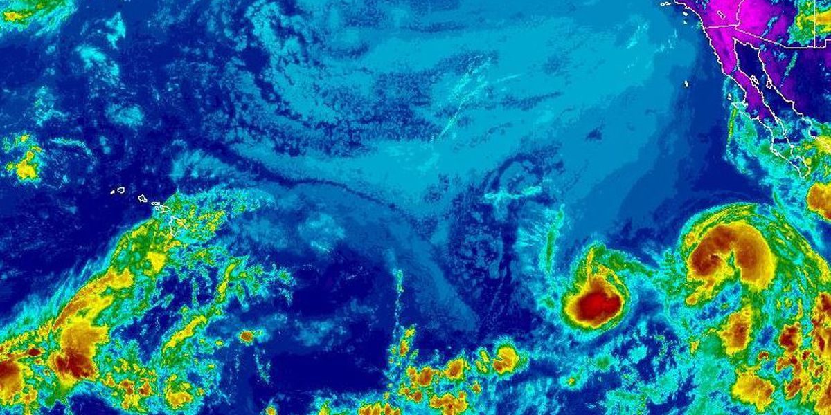 East Pacific tropical cyclones about to start rare dance called Fujiwhara Effect