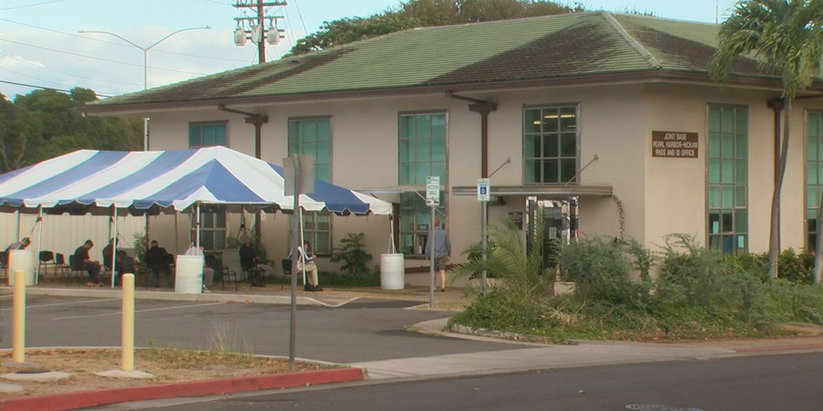 Joint Base Pearl Harbor-Hickam office reopens after employee tests positive for COVID-19