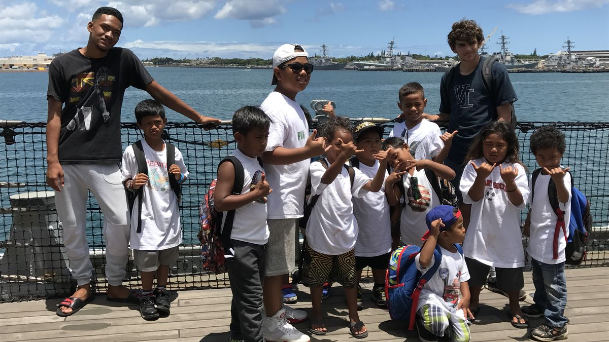 Program for formerly homeless kids helps them break habits learned on the streets