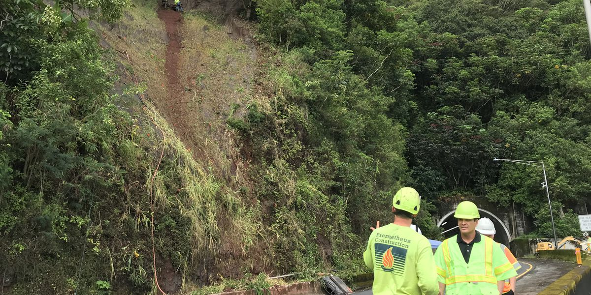 Hours temporarily changed for Kailua-bound contraflow on Pali Highway