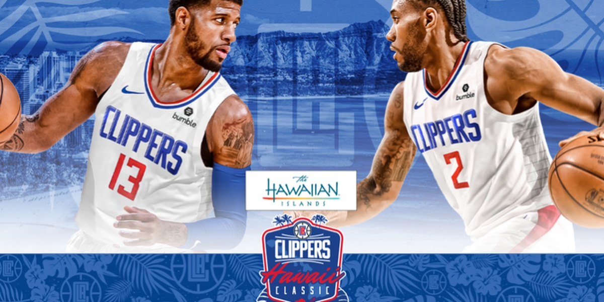 Clippers announce return to Hawaii, tickets go on sale next Tuesday